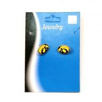 Iowa Hawkeyes Studded Earrings $2.75 Each