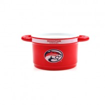 Houston Cougars Bowls - 23oz Ceramic Game Time Style Bowls - 2 For $10.00