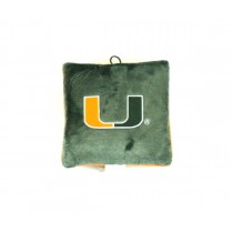 "Miami Hurricanes Pillows - 10"" Pillow - 12 For $24.00"