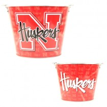Overstock - Nebraska Cornhuskers Buckets - (Pattern May Be Different Then Pictured) - $6.50 Each