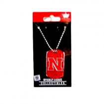 Nebraska Huskers Necklaces - Glitter Series Pendants - 12 For $30.00