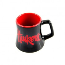 Nebraska Huskers Mini Mugs - SERIES2 - Ceramic 2OZ Shot Mugs - 12 For $36.00