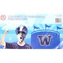 Washington Huskies Merchandise - Fuzz Head Wig - 2 For $10.00