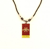 Iowa State Necklaces - Diamond Plate Style - 12 For $39.00