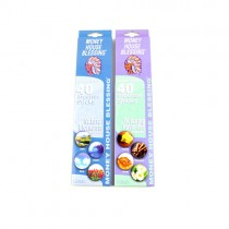 Wholesale Incense - 40Count Boxes Of Full Size Incense Sticks - Total Assortment Of Fragrances - 144 Boxes For $86.40