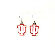 University Of Indiana Earrings - AMCO Series2 - Dangle Earrings - 12 Pair For $30.00