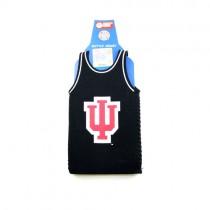 University Of Indiana Bottle Huggie - Black Jersey Style - 12 For $12.00