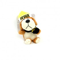 "Iowa Hawkeyes Ornaments - 4"" Plush Dog Style Ornaments - 12 For $30.00"