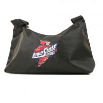 Style Change - Iowa State Purses - Black ProFiber Hobo Bags - 2 For $15.00