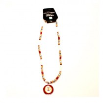 """Iowa State Necklaces - 18"""" Natural Shell Necklaces - $7.50 Each"""