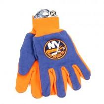 New York Islanders Gloves - Blue/Orange Grip Gloves $3.50 Per Pair