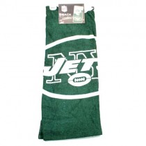 "Overstock Sale - New York Jets Towels - 30""x60"" Beach Towels - 6 Towels For $36.00"