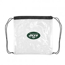 New York Jets Bags - Clear Cinch Sacks - 4 For $20.00