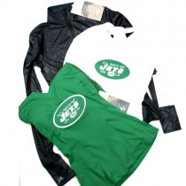 New York Jets Shirts - Assorted Couture Style Shirts - Assorted Styles And Sizes - 12 For $60.00