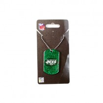 New York Jets Necklaces - Glitter Pendant Series - 12 For $30.00