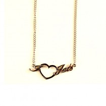 New York Jets Necklace - Heart Style - $4.00 Each
