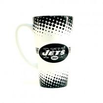New York Jets Mugs - 16OZ Sculpted Latte Mugs - 4 For $24.00