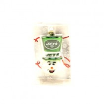 NewYork Jets Ornaments - Top Hat Snowman Style - 12 For $36.00