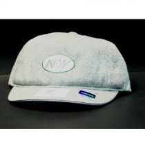 New York Jets Caps - Womens Sweat Material Caps - $5.00 Each
