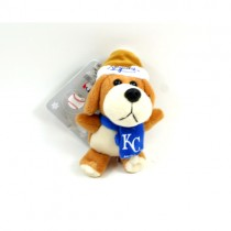 "Kansas City Royals Ornaments - 4"" Plush Dog Ornaments - 12 For $30.00"