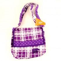 KState Merchandise - Plaid Messenger Bags - $10.00 Each