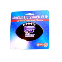 KState Wildcats Clips - Football Style Snack/Fridge Magnetic Clips - 12 For $30.00