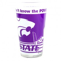 KState Wildcats Glass Pints - 16OZ Dual Logo With Star Wars - 4 For $12.00