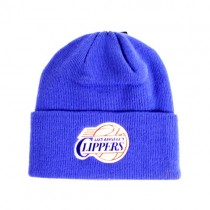 Los Angeles Clippers Merchandise - Blue Classic Cuffed Knits - 2 For $10.00