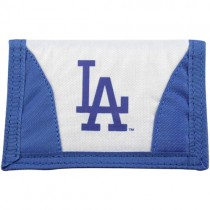 Los Angeles Dodgers Nylon Wallets - Chamber Style - 12 For $30.00