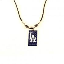 Los Angeles Dodgers Necklace - Diamond Plate - $3.50 Each
