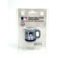 Los Angeles Dodgers Ornaments - Mini Mug Style Ornaments - 12 For $30.00