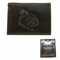 Louisville Cardinals Merchandise - BROWN Tri-Fold - Leather Wallets - $7.50 Each