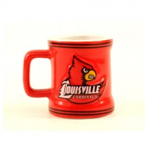 Louisville Cardinals Merchandise - 2OZ Sculpted ShotMugs - 12 ShotMugs For $39.00