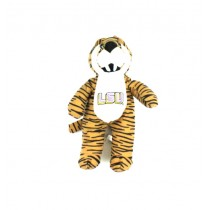 "LSU Tigers Plush - 14"" GOLD Tiger Striped - 12 For $24.00"