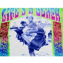 Wholesale Beach Towels - 3 Stooges Merchandise - Lifes A Beach LARRY - Full Size Beach Towels - 2 For $15.00
