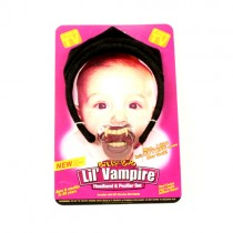 Halloween Merchandise - Billy Bob - Lil Vampire Pacifier/Ears Set - 12 Sets For $24.00