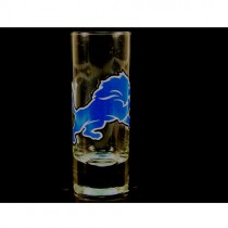 Detroit Lions Shot Glasses - 2OZ Cordial HYPE Style - (Pattern May Be Different Than Pictured) - $2.50 Each
