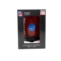"""Detroit Lions Night Light - 8"""" Table Top Football Style Night Light - 2 For $8.00"""
