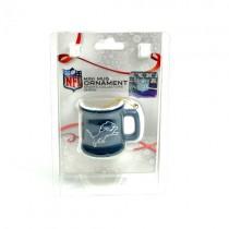 Detroit Lions Ornaments - Mini Mug Style Ornaments - 12 For $30.00