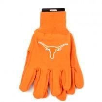 Overstock - Texas Longhorns Gloves - Solid Orange Grip Gloves - 12 Pair For $30.00