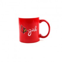 Louisville Cardinals Mugs - 11oz Girl Style Mugs - 12 For $36.00
