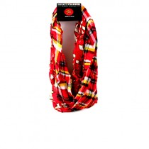 Maryland Terapins Scarves - Tartan Logo Infinity Scarves - 2 For $15.00