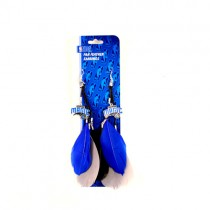 Orlando Magic Earrings - Feather Dangle Style - $2.75 Per Pair