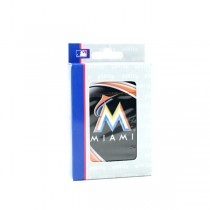 Miami Marlins Playing Cards - Hunter Style - 12 Decks For $30.00