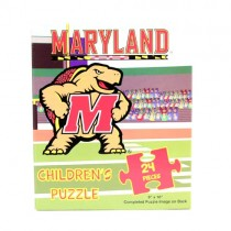 Total Blowout - Maryland Terapins - 24PC CHILDRENS Puzzles - 12 For $12.00