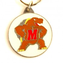 Total Blowout - Maryland Terapins Key Chains - Pewter Oval - 24 For $24.00