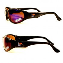 Blowout - Memphis Tigers Sunglasses - Black Solid Style - 12 Pair For $36.00