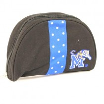 Blowout - Memphis Tigers - Black Cosmetic Bags - 12 For $24.00