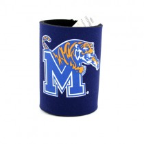 Memphis Tigers Can Huggies - Blue Structured Foam Style - 12 For $12.00