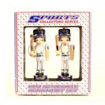 New York Mets Ornaments - 2Pack Nutcracker Ornaments - 12 Packs For $36.00